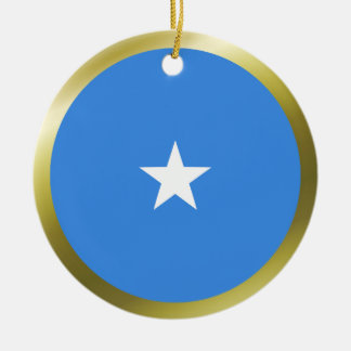 ソマリアの旗のオーナメント セラミックオーナメント