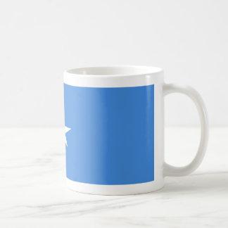 ソマリアの旗のコーヒー・マグ コーヒーマグカップ