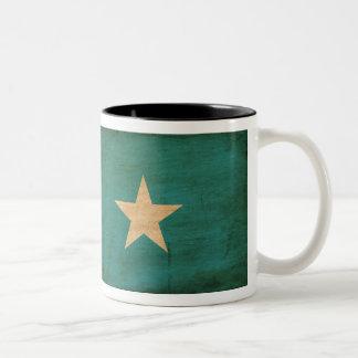 ソマリアの旗のマグ ツートーンマグカップ