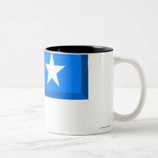 ソマリアの旗の宝石 ツートーンマグカップ