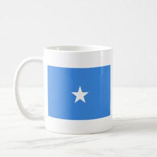ソマリアの旗の~の地図のマグ コーヒーマグカップ