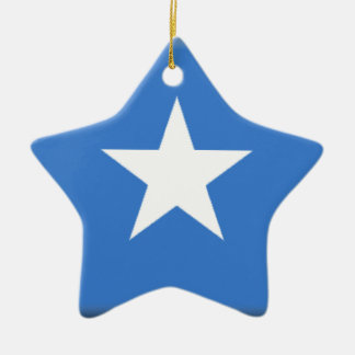 ソマリアの旗 セラミックオーナメント