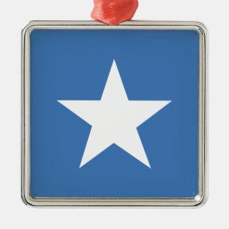 ソマリアの旗 メタルオーナメント