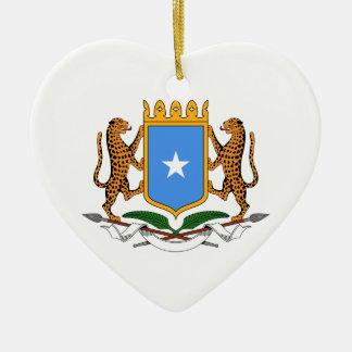 ソマリアの紋章付き外衣 セラミックオーナメント