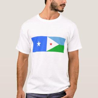 ソマリア東アフリカのabane tシャツ