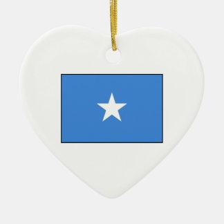 ソマリア-ソマリアの旗 セラミックオーナメント