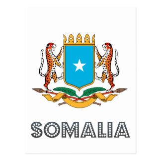 ソマリ族の紋章 ポストカード