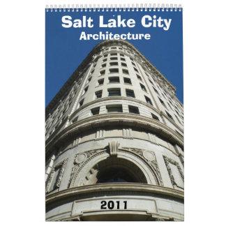 ソルト・レーク・シティの建築のカレンダー2011年 カレンダー