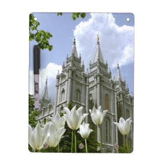 ソルト・レーク・シティLDSの寺院 ホワイトボード