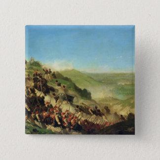 ソルフェリーノの戦い、1859年6月24日 5.1CM 正方形バッジ