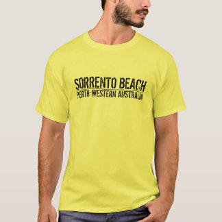 ソレントのビーチ Tシャツ