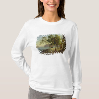ソレントのCapucins、1828年の台地 Tシャツ