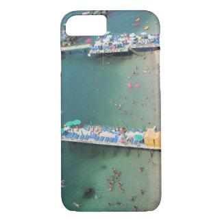 ソレントイタリアのビーチのオーシャンビューの夏 iPhone 8/7ケース