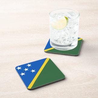 ソロモン諸島の旗のコースター コースター
