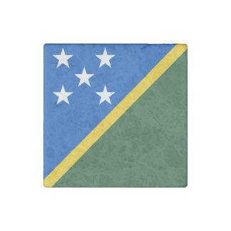 ソロモン諸島の旗 ストーンマグネット