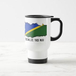 ソロモン諸島の旗 トラベルマグ