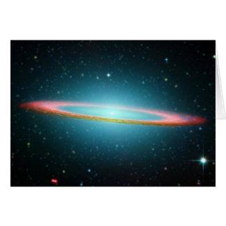 ソンブレロの渦状銀河NGC 4594 グリーティングカード
