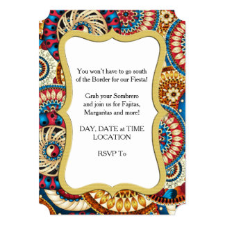 ソンブレロの組合せHHMのパーティの招待状 カード