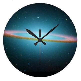 ソンブレロの銀河系-赤外線 ラージ壁時計
