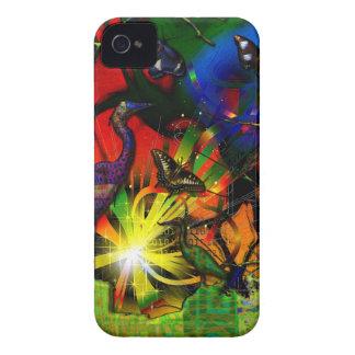 ソースコードの鷲の蝶抽象芸術 Case-Mate iPhone 4 ケース