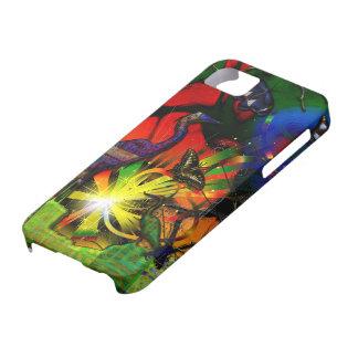 ソースコードの鷲の蝶抽象芸術 iPhone SE/5/5s ケース