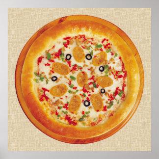 ソーセージピザ ポスター