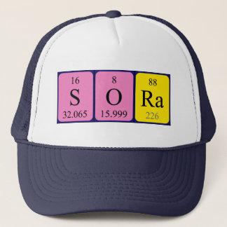 ソーラの周期表の名前の帽子 キャップ