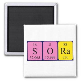 ソーラの周期表の名前の磁石 マグネット