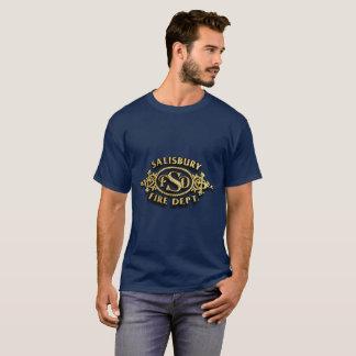 ソールズベリーノースカロライナの消防署 Tシャツ