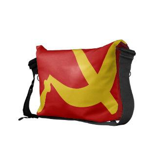 ソ連国旗のメッセンジャーバッグ メッセンジャーバッグ
