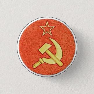 ソ連国旗ボタン 缶バッジ