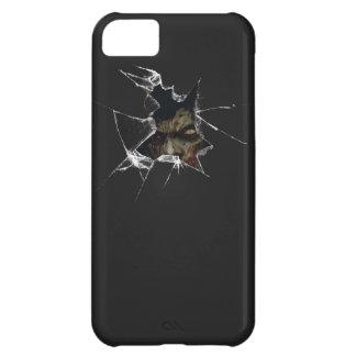 ゾンビによって壊されるiphoneの箱 iPhone5Cケース