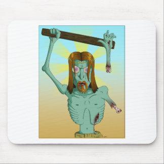 ゾンビのイエス・キリストインク マウスパッド