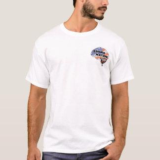 ゾンビのウイルスの苦境 Tシャツ
