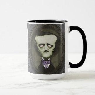 ゾンビのエドガー幽霊のよく出るなアランPoeのマグ マグカップ
