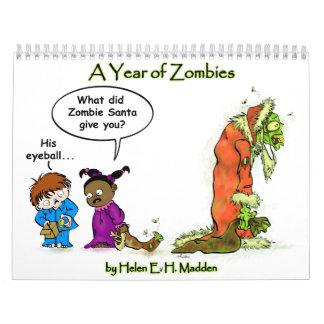 ゾンビのカレンダー! カレンダー