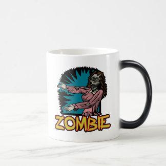 ゾンビのクラシックのマグ マジックマグカップ