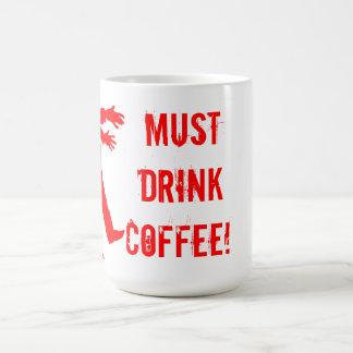ゾンビのコーヒー・マグ コーヒーマグカップ