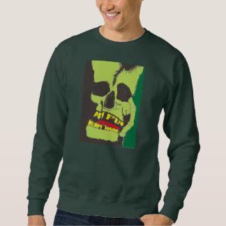 ゾンビのスカルの悪鬼モンスターのフランケンシュタインのワイシャツのティー スウェットシャツ