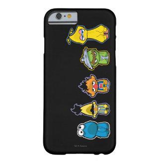 ゾンビのセサミストリートのキャラクター BARELY THERE iPhone 6 ケース
