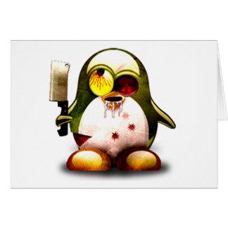ゾンビのタキシード(Linuxのタキシード) カード