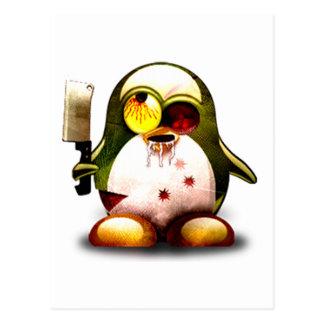 ゾンビのタキシード(Linuxのタキシード) ポストカード