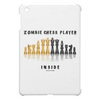 ゾンビのチェスをする人の内部(反射チェスのこまセット) iPad MINI カバー