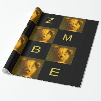 ゾンビのテディの包装紙 ラッピングペーパー