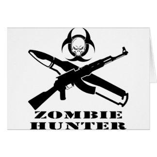 ゾンビのハンターカラシニコフ自動小銃 カード