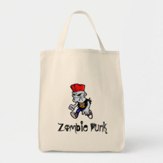 ゾンビのパンクのブックバッグ トートバッグ
