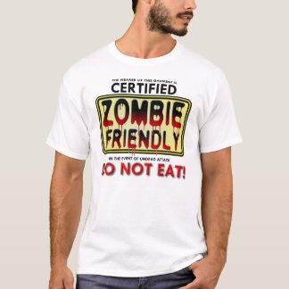 ゾンビのフレンドリーなおもしろTシャツ Tシャツ
