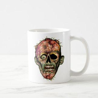 ゾンビのヘッドコーヒー・マグ コーヒーマグカップ