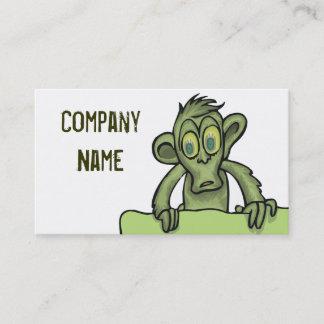 ゾンビのモンキービジネスカード 名刺