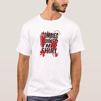 ゾンビのワイシャツ Tシャツ